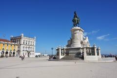 27th för juni lisbon för kommers 2010 tagna portugal foto fyrkant Arkivbilder