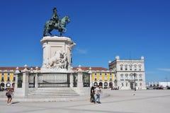 27th för juni lisbon för kommers 2010 tagna portugal foto fyrkant Fotografering för Bildbyråer