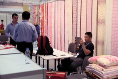 5th ` för `-Kina Homelife show, Warszawa, Polen Royaltyfria Bilder