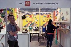 5th ` för `-Kina Homelife show, Warszawa, Polen Arkivfoton