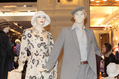 70th fashion style mannequin Stock Image