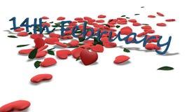 14th februari valentin för dag s Royaltyfri Fotografi