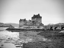 7th of February , 2017 ISLE OF SKYE, SCOTLAND - Eilan Donan Castle. Fortified castle built in the mid 13th century Stock Image
