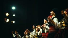 18th festival av serbisk folklore Royaltyfri Bild