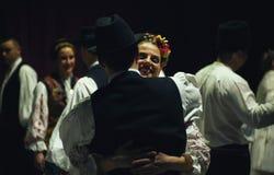 18th festival av serbisk folklore Arkivfoton