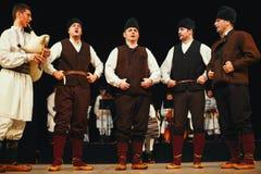 18th festival av serbisk folklore Royaltyfri Fotografi
