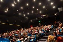 55th festival de cinema internacional de Tessalónica no cinema de Olympion Imagem de Stock