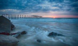59th gatapir i havstaden NJ Arkivbilder
