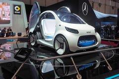 88th Geneva International Motor Show 2018 - Smart vision EQ concept. Daimler's city-car brand, smart, has shown its hand on urban mobility stock photos