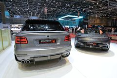 88th Geneva International Motor Show 2018 - Startech tuning company stand stock image