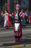 115th Golden Dragon Parade, Chinese New Year, 2014, Year of the Horse, Los Angeles, California, USA Stock Images