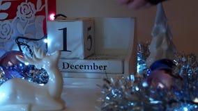 11th Grudnia data Blokuje adwentu kalendarz zbiory