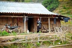 24th 2012 Grudzień, Sapa wioska, Wietnam Zdjęcie Royalty Free
