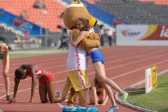 8th IAAF World Youth Championships Stock Image
