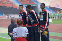 8th IAAF World Youth Championships Stock Photos