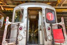240th iarda del treno della via (Van Cortlandt Yard) Fotografia Stock Libera da Diritti