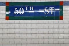 50th informação das telhas Imagem de Stock