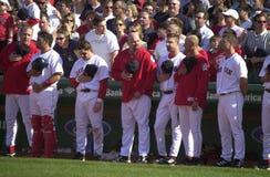 7th inning rozciągliwość przy Fenway parkiem zdjęcie stock