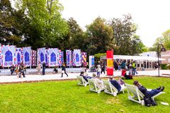 58th International Art exhibition of Venice biennale royalty free stock image