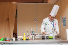 8th International Competitions Cooking Southern Europe Royalty Free Stock Photography