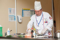 8th International Competitions Cooking Southern Europe Royalty Free Stock Photos