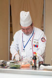 8th International Competitions Cooking Southern Europe Royalty Free Stock Images