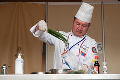 8th International Competitions Cooking Southern Europe Stock Photos