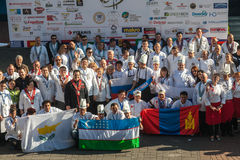 8th International Competitions Cooking Southern Europe Royalty Free Stock Image