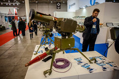 13th international exhibition of armaments Arms and Security 2016. October 11, 2016. Kyiv, Ukraine. 13th international exhibition of armaments Arms and Security Royalty Free Stock Images