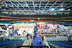14th International Exhibition of purity ExpoClean 2012 Stock Image