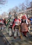 27th International Masquerade Games & Mummers Festival Surva 2018 Stock Images