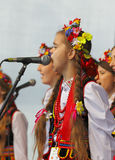 The 42th International Scout Festival of School Youth. Stock Photos