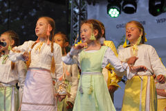 The 42th International Scout Festival of School Youth. Royalty Free Stock Image