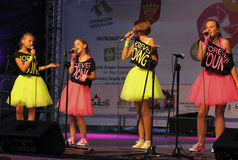 The 42th International Scout Festival of School Youth. Royalty Free Stock Photography