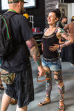 10-th International Tattoo Convention in Krakow Congress-EXPO Center Royalty Free Stock Images
