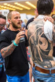 10-th International Tattoo Convention in Krakow Congress-EXPO Center Royalty Free Stock Photos