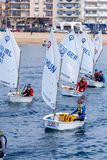 29th INTERNATIONELLA PALAMOS-OPTIMISTTROFÉ 2018, 13TH NATIONKOPP, 16 Februari 2018 stad Palamos, Spanien Royaltyfria Foton