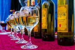 14th internationella vinfestival i Berehove Royaltyfri Bild