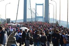 35th Istanbul Eurasia Marathon Royalty Free Stock Images