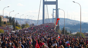 35th Istanbul Eurasia Marathon Royalty Free Stock Image