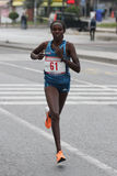 10th Istanbul halva maraton Arkivbild