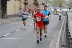 10th Istanbul halva maraton Royaltyfri Bild