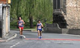 10th Istanbul halva maraton Arkivbilder