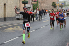 10th Istanbul halva maraton Fotografering för Bildbyråer