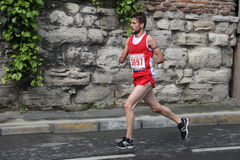 10th Istanbul halva maraton Royaltyfria Bilder