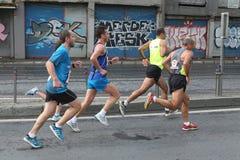 10th Istanbul halva maraton Royaltyfri Fotografi