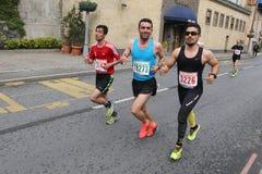 10th Istanbul halva maraton Royaltyfri Foto