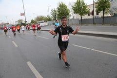 10th Istanbul halva maraton Royaltyfria Foton