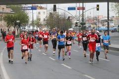 10th Istanbul halva maraton Arkivfoto