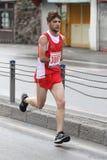 10th Istanbul halva maraton Arkivfoton